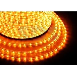 121-321-4 Дюралайт LED, свечение с динамикой (3W) – желтый, 24 LED/м, бухта 100м