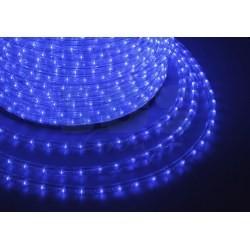 121-323-4 Дюралайт LED, свечение с динамикой (3W) – синий, 24 LED/м, бухта 100м