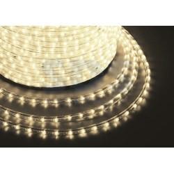 121-126-6 Дюралайт LED, постоянное свечение (2W) – теплый белый, 30 LED/м, бухта 100м