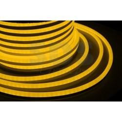 131-075 Гибкий Неон LED SMD, форма – D, белый, 120 LED/м, бухта 100м