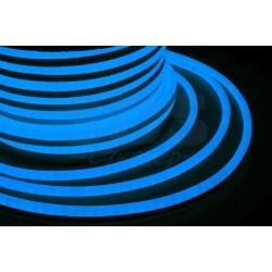 131-053 Гибкий Неон LED SMD, синий, 120 LED/м, бухта 50м