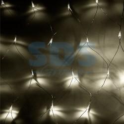 "215-136 Гирлянда ""Сеть"" 1, 8х1, 5м, прозрачный ПВХ, 180 LED Тепло-Белые"