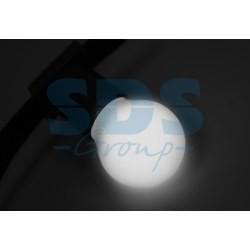405-115 Лампа шар e27 3 LED Ø45мм – белая