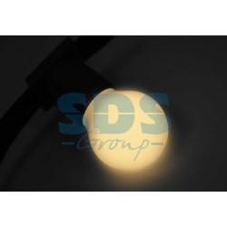 405-116 Лампа шар e27 3 LED Ø45мм -теплая белая