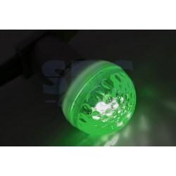 405-124 Лампа строб e27 Ø50мм зеленая
