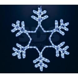 "501-335 Фигура ""Снежинка"" LED Светодиодная, без контр. размер 55*55см, ""СИНЯЯ"" NEON-NIGHT"