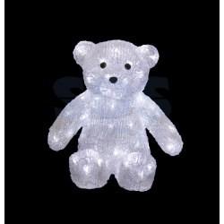 """513-268 Акриловая светодиодная фигура """"Медвежонок"""" 30 см, 80 светодиодов, IP 44, понижающий трансформатор в комплекте, NEON-NIGHT"""