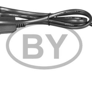303-500 Комплект покдлючения для гирлянд с постоянным свечением 230В / 4А, цвет провода: черный, IP65