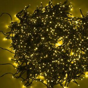 """323-501 Гирлянда """"LED ClipLight"""" 24V, 5 нитей по 20 метров, цвет диодов Желтый"""