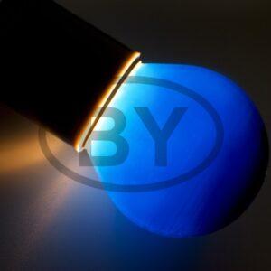 401-113 Лампа накаливания e27 10 Вт синяя колба