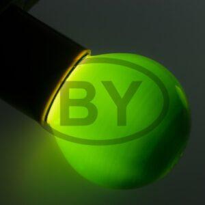 401-114 Лампа накаливания e27 10 Вт зеленая колба