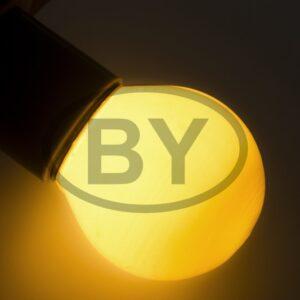401-111 Лампа накаливания e27 10 Вт желтая колба