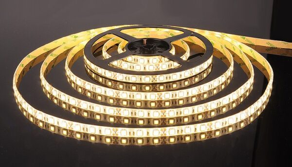 Светодиодная LED лента IP20 SMD50x50/60 14,4Вт/м  теплый белый