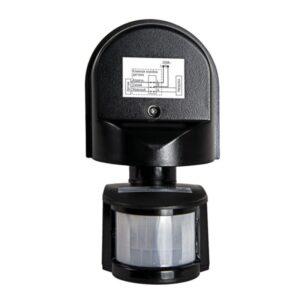 Датчик движения инфракрасный ДД-008-B (W) 1200ВТ 180 ° 6м, IP44 Белый, Черный