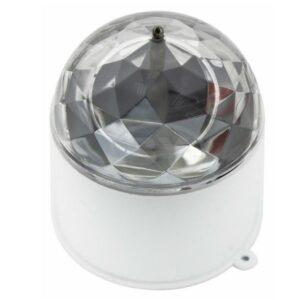 601-252 Диско-лампа светодиодная в компактном корпусе, 230 В