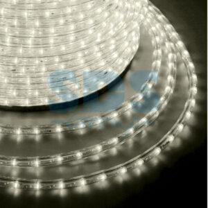 121-256-4 Дюралайт LED, эффект мерцания (2W) – теплый белый Эконом 24 LED/м , бухта 100м