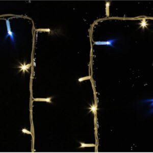 """315-184 Гирлянда модульная """"Дюраплей LED"""" 20м 200 LED белый каучук , мерцающий """"Flashing"""" (каждый 5-й диод), Зеленая"""