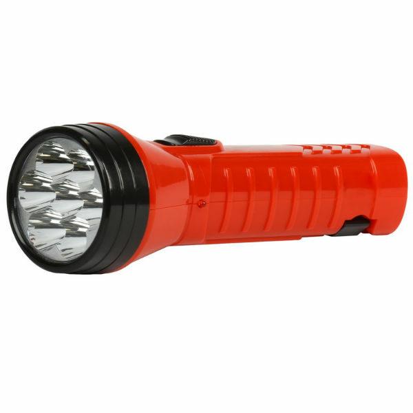 Аккумуляторный светодиодный фонарь LED с прямой зарядкой Smartbuy-R