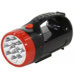 Аккумуляторный фонарь-прожектор 12+9 SMD, черный