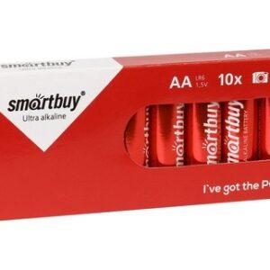 Батарейка алкалиновая Smartbuy LR6/10 box (10/300) (SBBA-2A10BX)