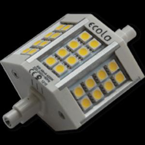 Ecola Projector LED Lamp Premium 6,0W F78 220V R7s  (алюм. радиатор) 78x32x51