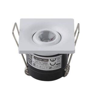 Светодиодный светильник встраиваемый 1Вт LAURA