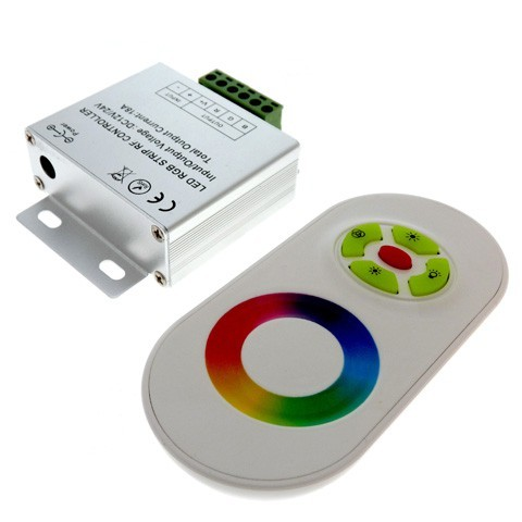 LED RGB controller радио Сенсорный 18А