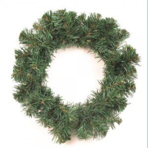 Венок рождественский,зеленый,диам.35см