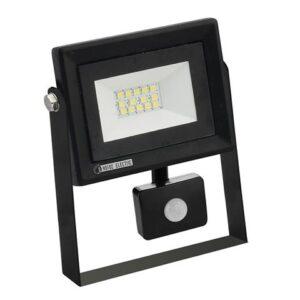 Прожектор светодиодный СДО-5Д-10 10Вт с датчиком движения IP65 PARS/S-10 Horoz