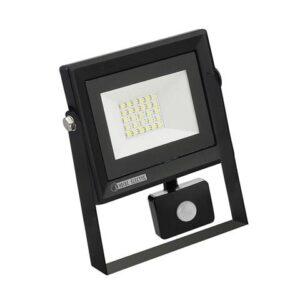 Прожектор светодиодный СДО-5Д-20 20Вт с датчиком движения IP65 PARS/S-20 Horoz