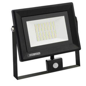 Прожектор светодиодный СДО-5Д-50 50Вт с датчиком движения IP65 PARS/S-50 Horoz