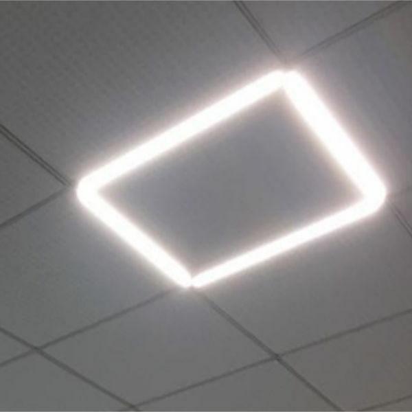 Ультратонкая светодиодная  панель  SBL-40W 595х595х10 мм