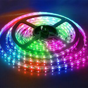 Светодиодная LED лента IP65 SMD50x50/60 14,4Вт/м RGB