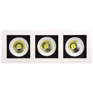 Светодиодный светильник встраиваемый 24вт SABRINA-24 3X8W HL6723L