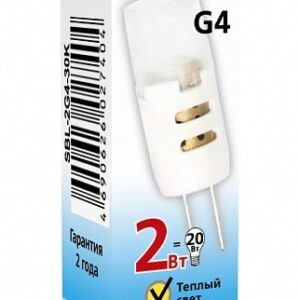 Лампа светодиодная LED-JC 2Вт 12В G4