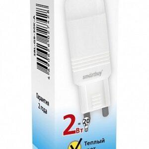 Лампа светодиодная LED-JCD-standard 2.0Вт 160-260В G9