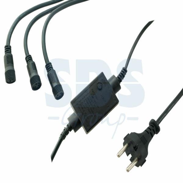 123-015 Контроллер 340W, 3 выхода, 8 программ 3-х контактный