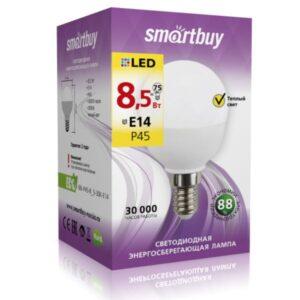Лампа светодиодная LED-ШАР Р45 8,5W Е14