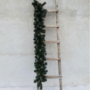 Гирлянда еловая с имитацией снега 1,5 метра, диаметр 22см (без декора)