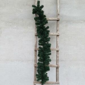 Гирлянда еловая с зелеными кончиками 1,5 метра, диаметр 22 см(без декора)