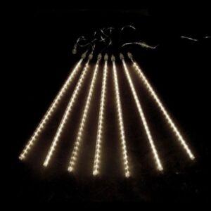 """256-416 Гирлянда """"Тающие сосульки"""" светодиодная, 8 шт х 50 см, шаг 40 см, 230 В, Теплые Белые светодиоды"""