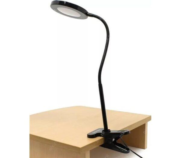 Светодиодный наст. светильник (LED) Smartbuy-8W /Clip (на клипсе)