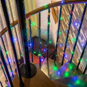 303-106 Гирлянда светодиодная универсальная 200 LED БЕЛЫЕ