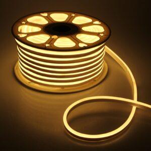 Гибкий неон, 8х16 мм, 50 м, LED/м-120-SMD2835-220V, Т/БЕЛЫЙ