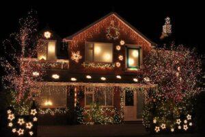 новогоднее освещение светодиодное